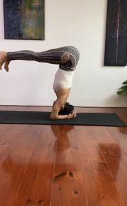 headstand | critical alignment yoga | Iris Reyes