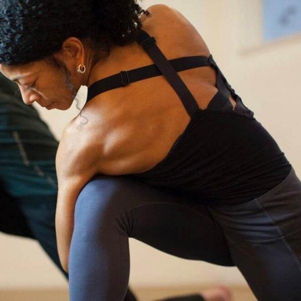 Parivrtta Parsvakonasana | Iris Reyes | critical alignment yoga
